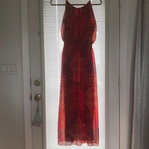 Women's dress petite size 8 spaghetti straps